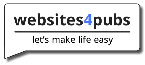 Websites4pubs logo